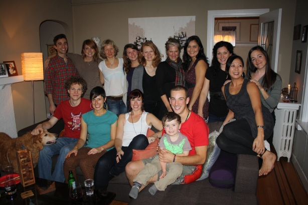 The beautiful Yoga Fam from Sanga Yoga's Teacher Integration Program